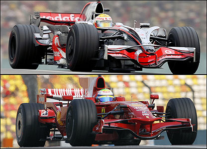 McLaren vs Ferrari