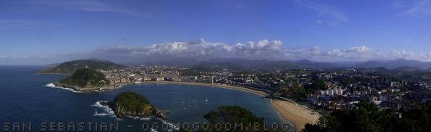San Sebastian desde Monte Igueldo